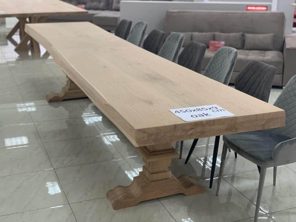 Eiche Tisch groß