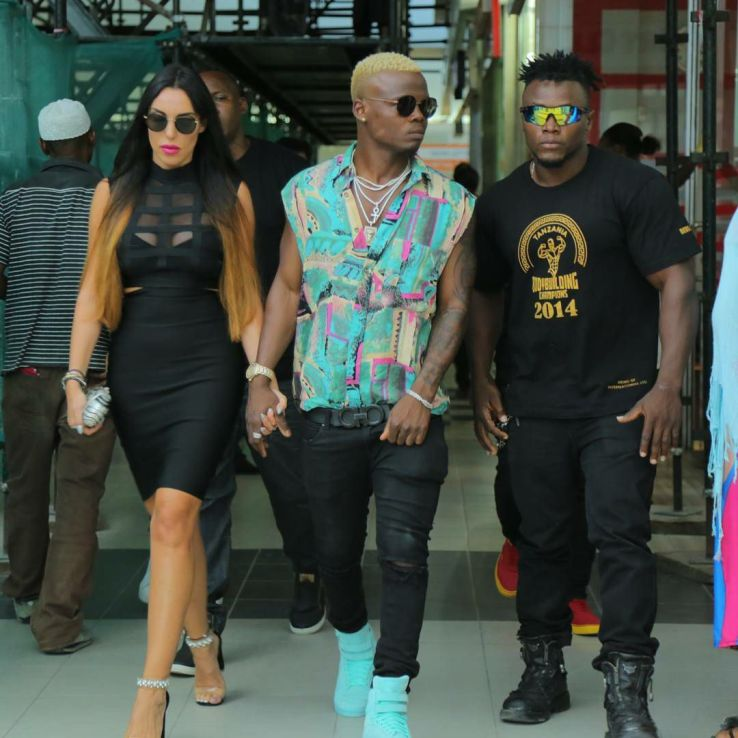 Harmonize, Harmonize Forced By Girlfriend To Open A Studio At Home
