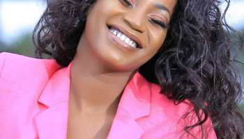 Sheebah laughing