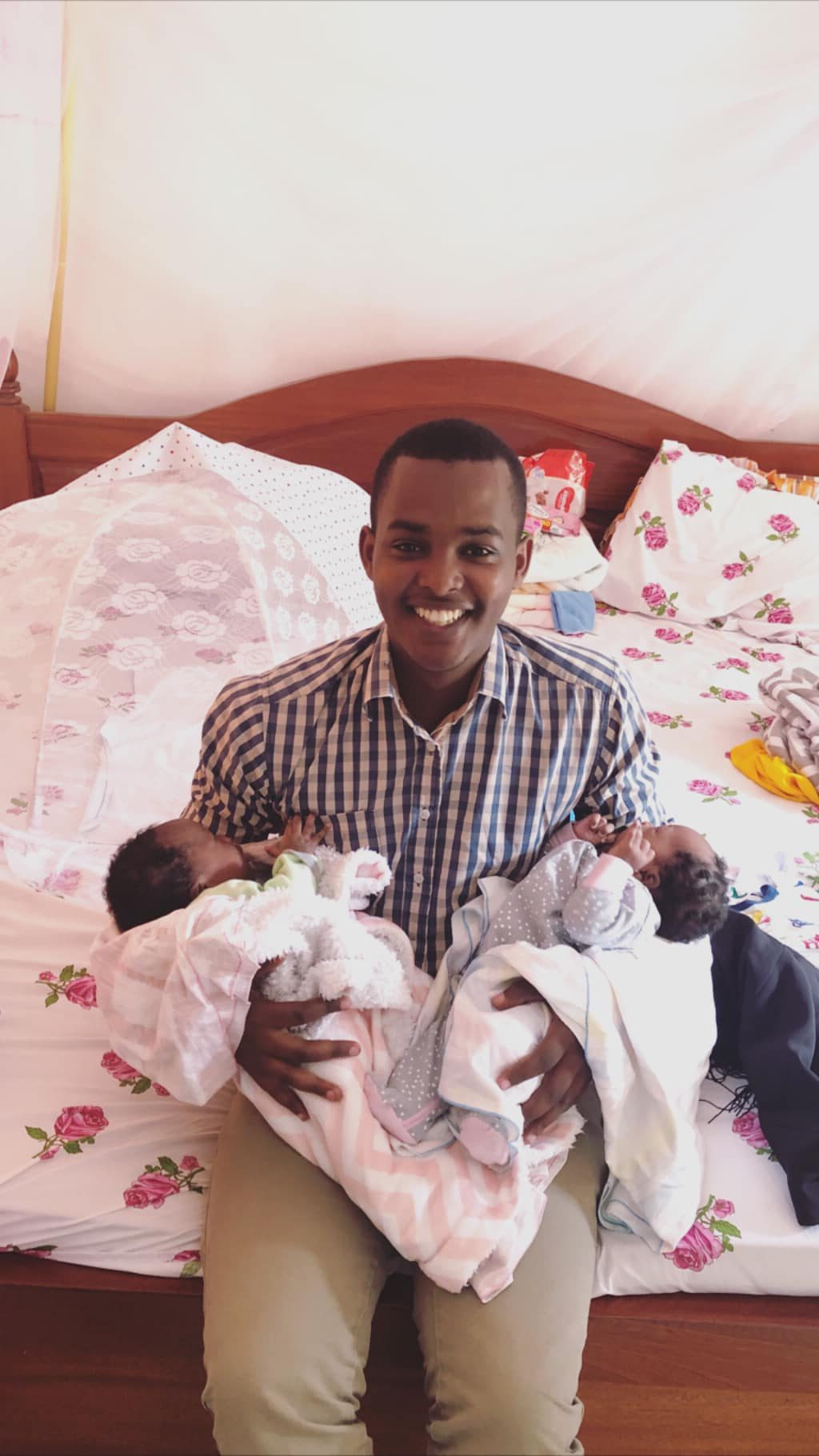 NBS TV reporter Canary Mugume denies fathering twins