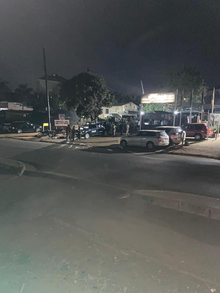 Police raid Nomad Bar