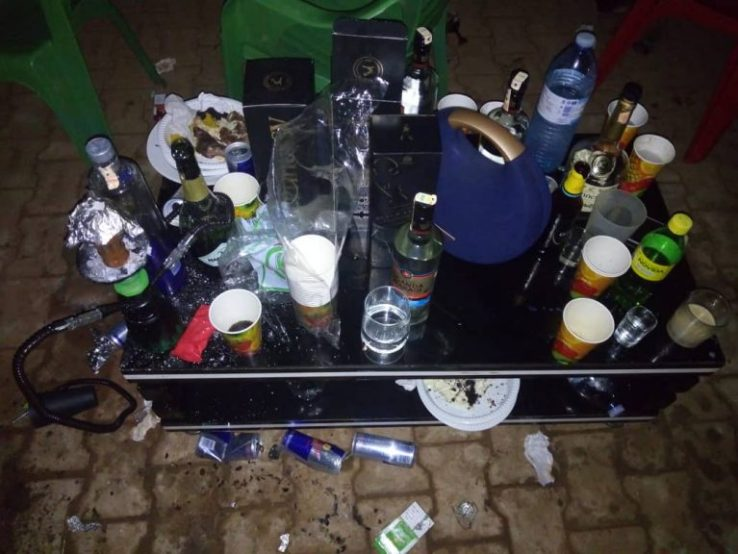 Police Raided A Sex Party In Kireka And Arrested 21 Culprits Who Were Caught Red-Handed. 13