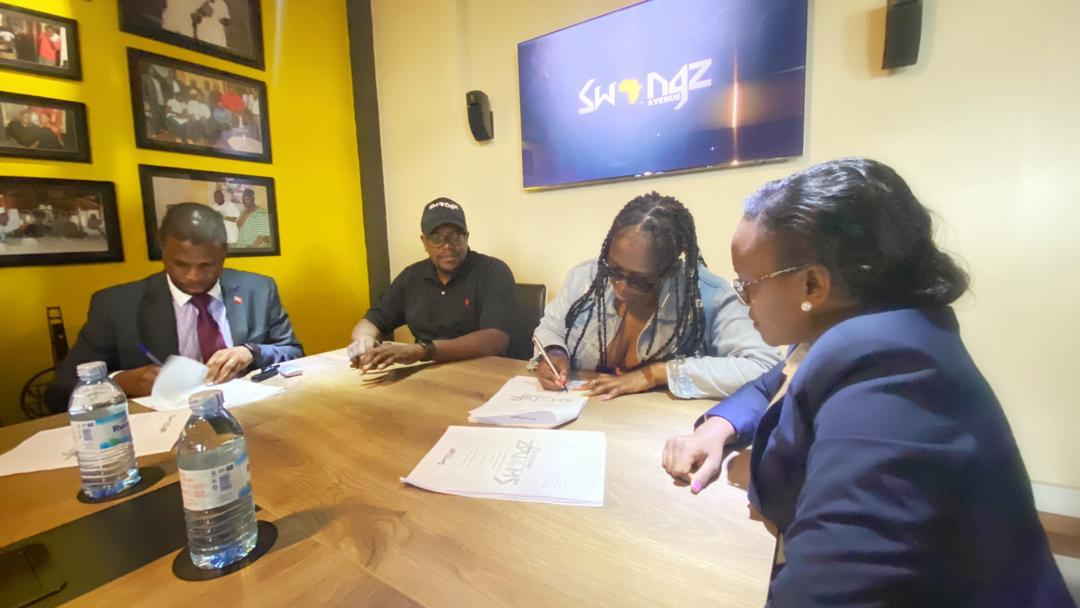 STILL HERE! Swangz Avenue renews Winnie Nwagi's contract