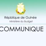 Communiqué au lancement officiel de la campagne de recensement fiscal exercice 2021