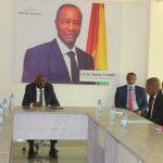 Le ministre du Budget reçoit une délégation de la Société Aglogold Ashanti