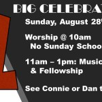One Big Celebration, August 28, 2016