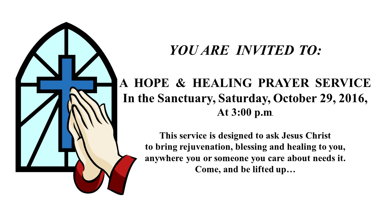 A Hope & Healing Prayer Service - Mission Bend United