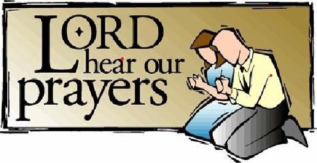 Lord Hear Our Prayers