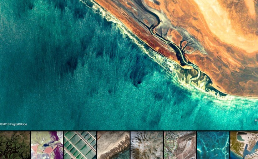 Earth View from Google Earth