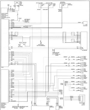 W210 speaker wiring diagram  MBWorld Forums