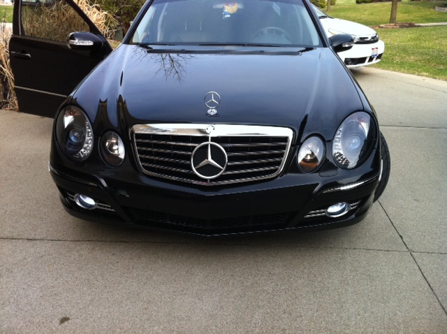 2014 Mercedes Benz E550 Black