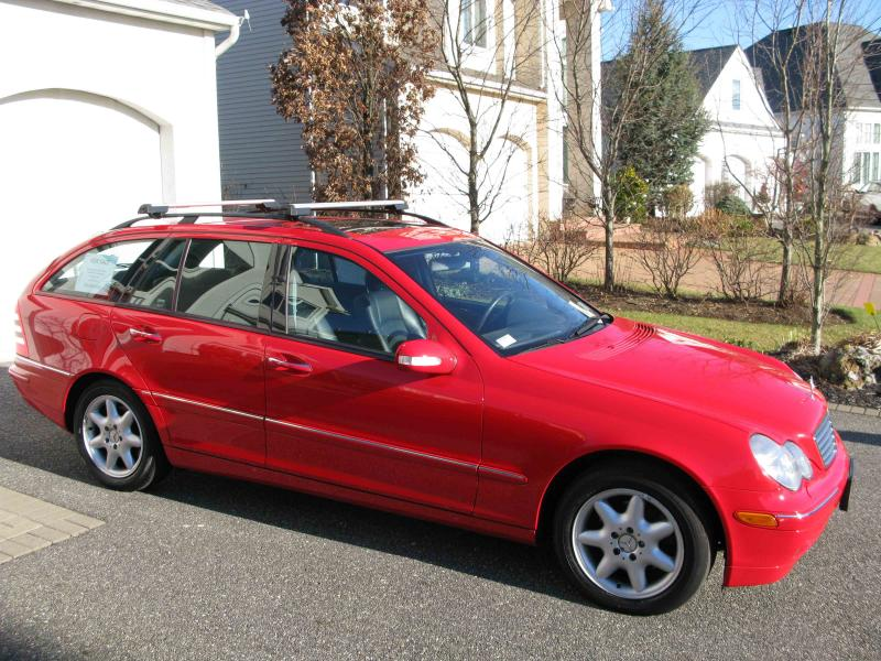 2003 Mercedes C 240 Awd Wagon Red Mbworld Org Forums