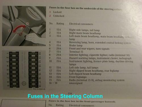638 Fuse Board Info