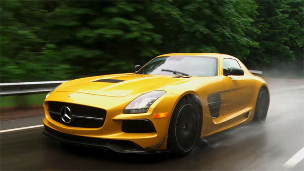 2014 Mercedes-Benz SLS AMG Black Series Cuts the Cheese in ...