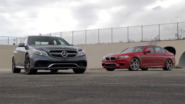 Mercedes Benz E63 Amg S 4matic Vs Bmw M5 Competition