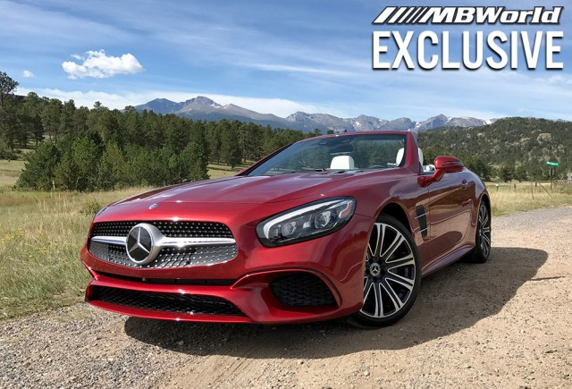 Here's everything you need to know about the new Mercedes-Benz SL450.