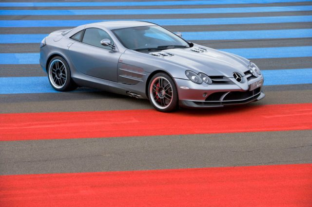 This Mercedes-Benz SLR McLaren 722 was once owned by Michael Jordan.