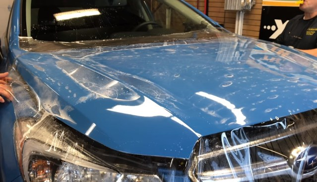 This protective film could come in handy on your Mercedes.