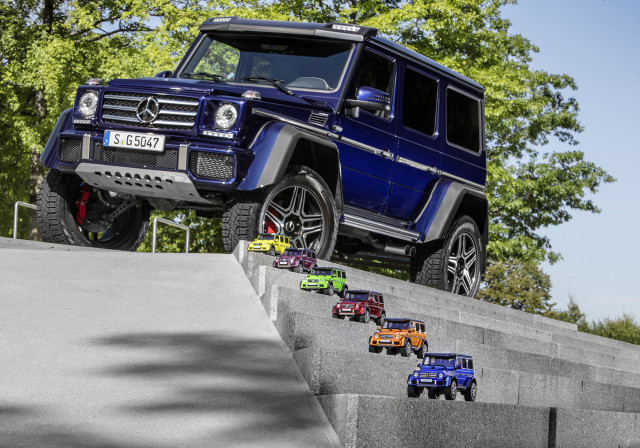 These mini G-Wagen's aren't as practical as the real thing, but they're still great.