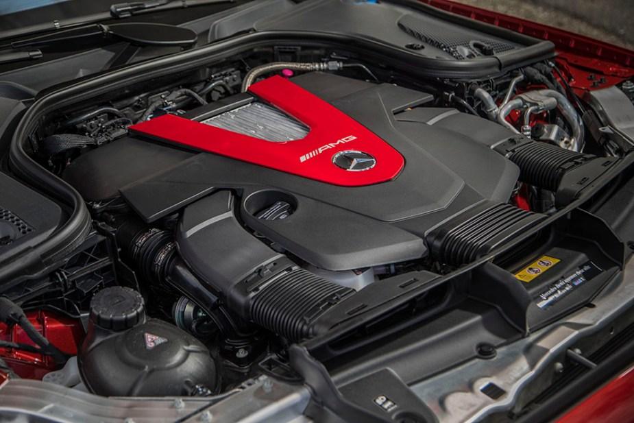 2017 Mercedes-AMG E43 engine