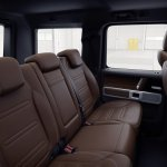 2019 G-Class Rear Seat