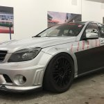C63 AMG Tracktool Front