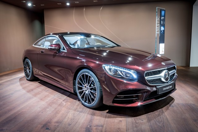 MBWorld.org 2019 Mercedes-Ben S-Class Coupe Convertible Exclusive Edition