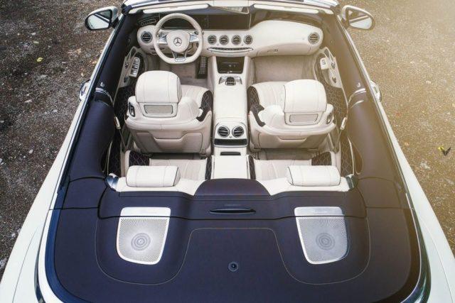 Mercedes AMG S63 cabrio Vilner