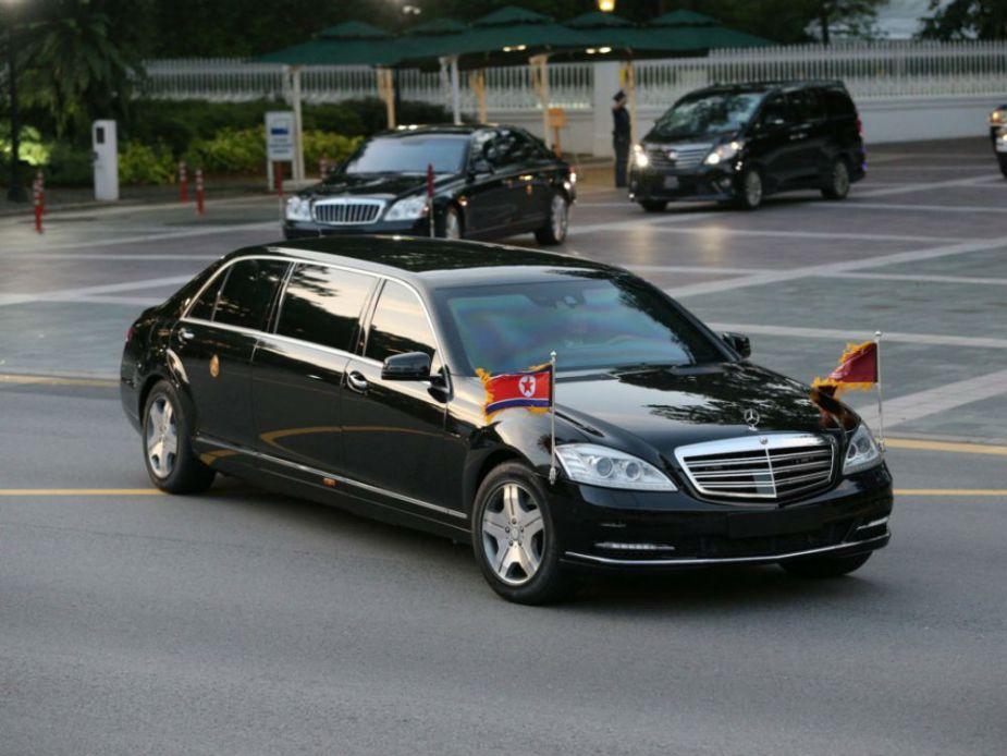 Kim Jong-un's Mercedes-Benz S600 Pullman Guard W221