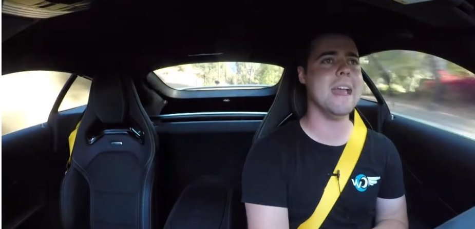 AMG GTR Driven