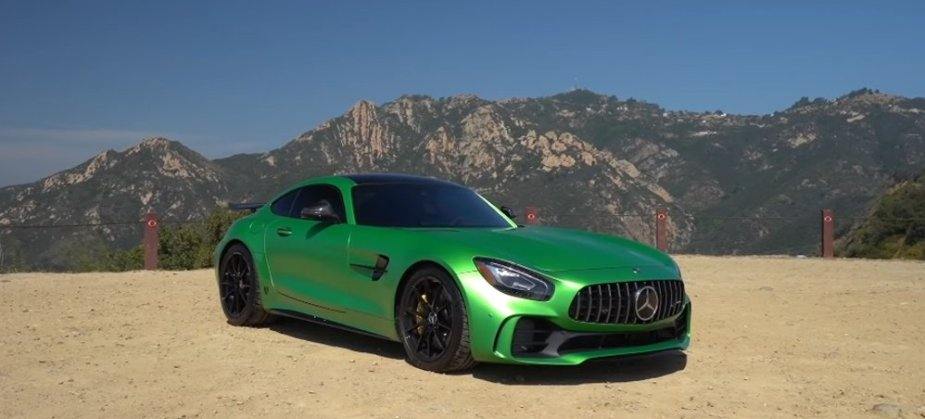 AMG GTR in Green
