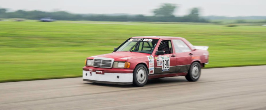 ChampCar Endruance Race is a Breeze for Mercedes-Benz 190 E
