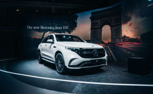 Mercedes-Benz EQC Paris 2018