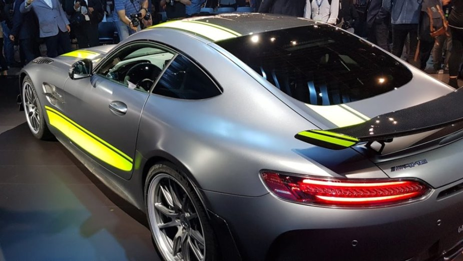 Mercedes-Benz AMG GT R Pro High Rear