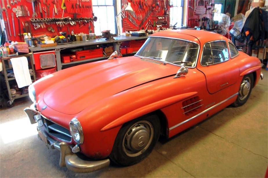 1956 300SL Gullwing exudes style and class