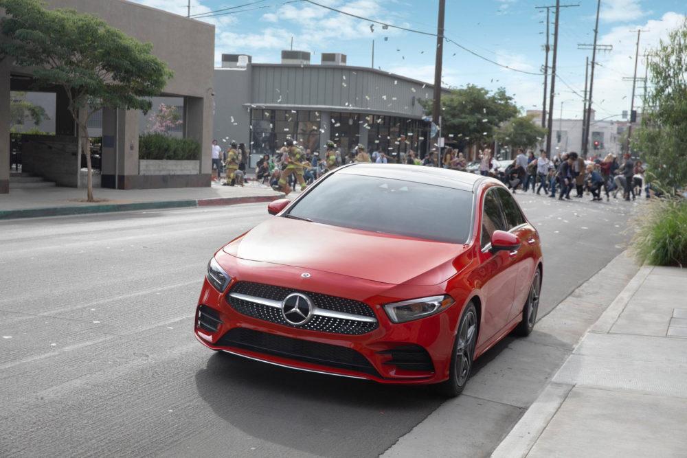 Mercedes A-Class Super Bowl LII