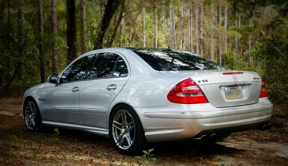 2005 AMG E55 Beauty Shot Rear