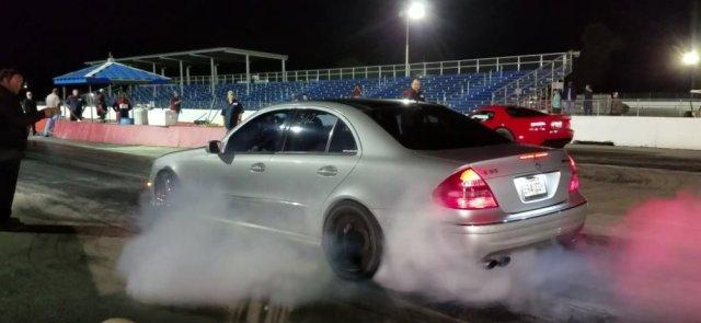 AMG E55 Burnout