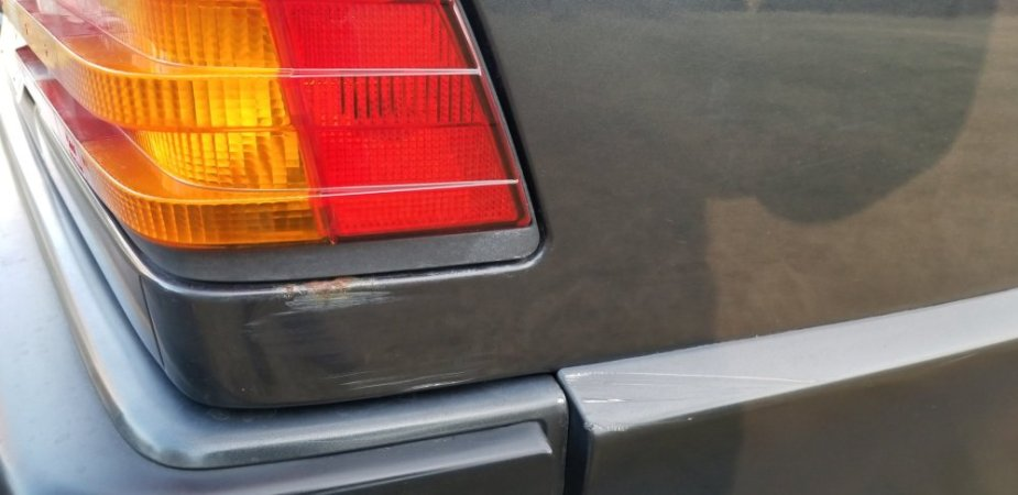 Cosworth 190e Rear Dent