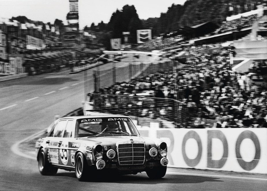 "1971 300SEL 6.8 ""Red Pig"" at 24 Hours of Spa Franchorchamps"