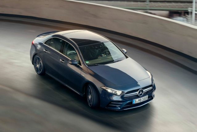 Mercedes-AMG A 35 4MATIC Limousine // Mercedes-AMG A 35 4MATIC S