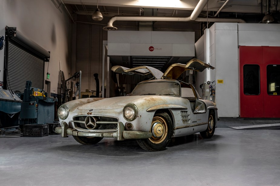 "Amelia Island Concours d'Elegance 2019: Mercedes-Benz 300 SL ""Gullwing""-Zwillinge in FloridaAmelia Island Concours d'Elegance 2019: Mercedes-Benz 300 SL ""Gullwing"" twins in Florida"