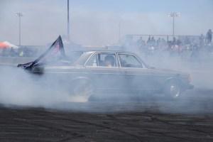 """Mercedes-Benz 240 D + LS Fest West +""""Cleetus & Cars"""""""