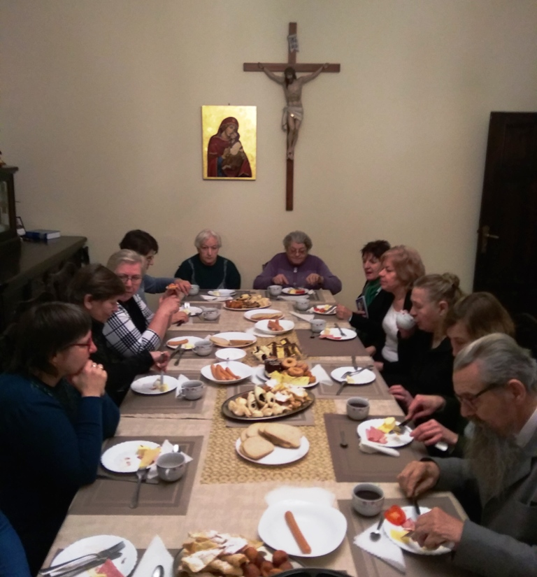Spotkanie noworoczne wspólnot różańcowych