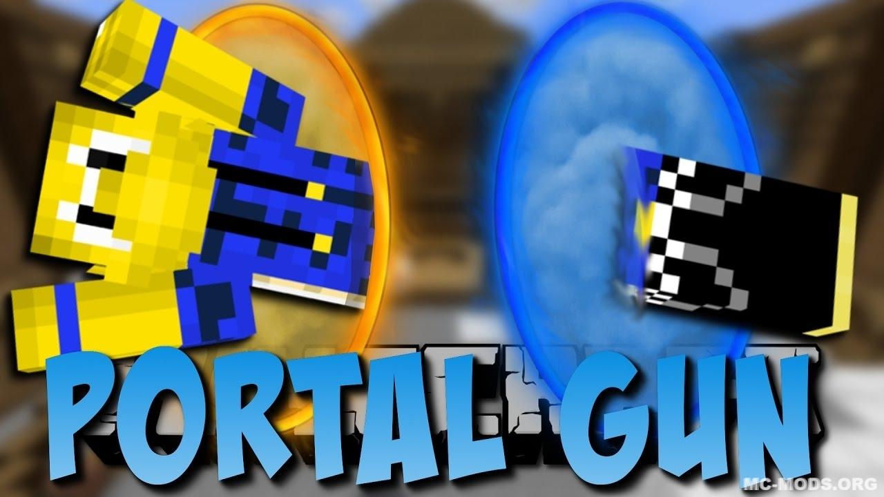 Portal Gun Mod 1 13/1 12 2 - MC-Mods org