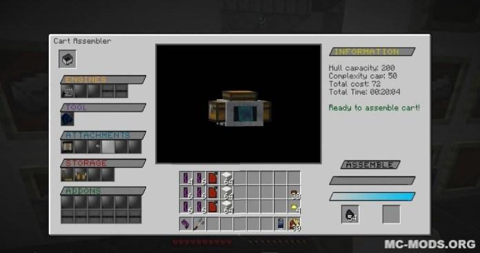 Steve's Carts Reborn Mod 1 13/1 12 2 - MC-Mods org