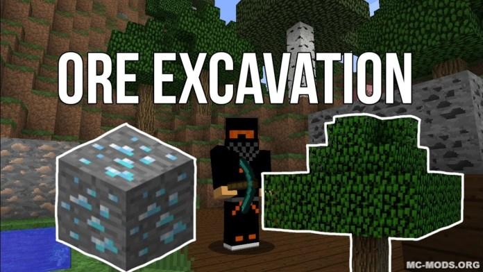 Ore Excavation Integration Mod 1 13/1 12 2 - MC-Mods org