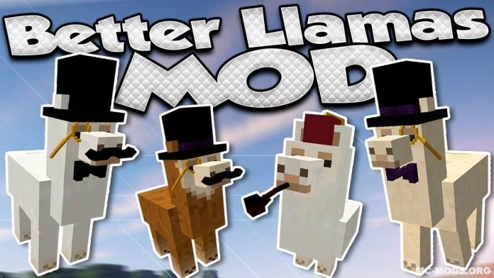 better than llamas mod