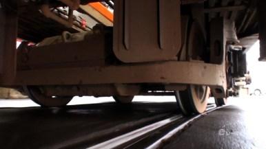特典映像「カメラを車体に固定した台車の動き」