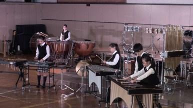 第2部・Ensemble & Guest Stage/打楽器5重奏